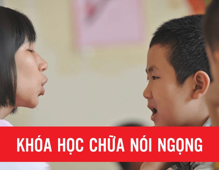 Khóa học chữa nói ngọng hiệu quả