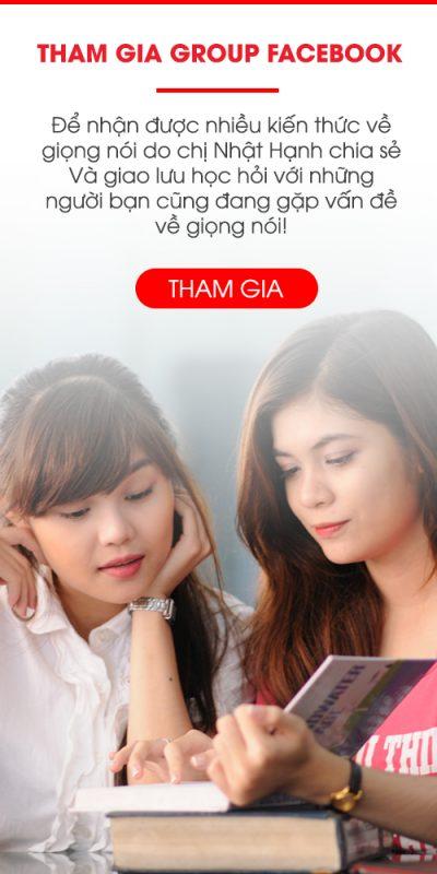 Tham gia group facebook hỗ trợ chữa nói lắp